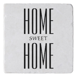 Personalized Home Sweet Home Trivet