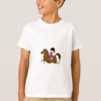Personalized Horse and Rider Dressage Accessory T-Shirt