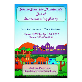 Personalized  Housewarming Party Invitation