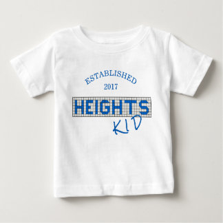 Personalized Houston Heights Kid Tiles Baby T-Shirt