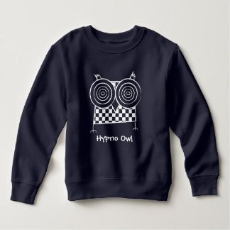 Personalized Hypno Owl Toddler Fleece Sweatshirt