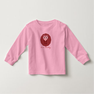 Personalized I heart you message T-shirt