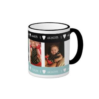 Personalized I Love Grandpa Mug
