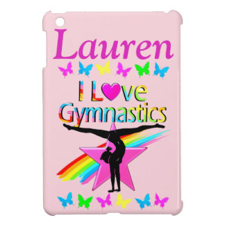 PERSONALIZED I LOVE GYMNASTICS IPAD CASE