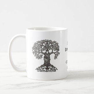Personalized I read because I cannot stop Coffee Mug