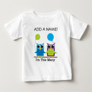 Personalized I'm This Many 2nd Birthday Tshirt