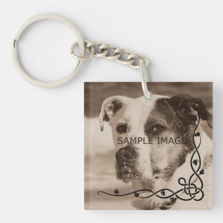 Personalized Instagram Photo | Create Your Own Key Ring