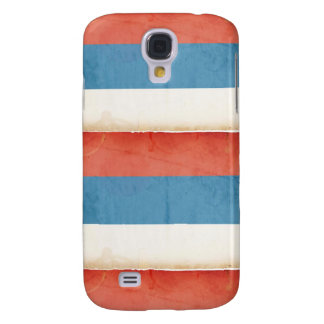 Personalized Iphone case 3G red white and blue Samsung Galaxy S4 Cover