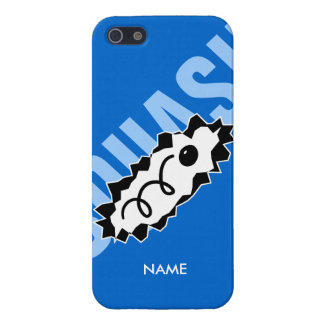Personalized iPhone cover with squash ball print iPhone 5 Cases