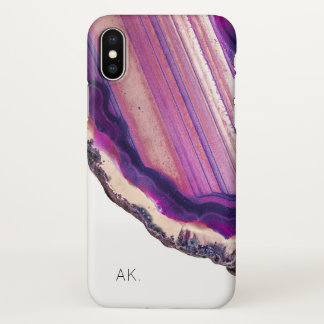 Personalized iPhone X CaseMate Case | Agate