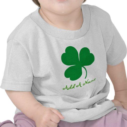 Personalized Irish Baby Tee