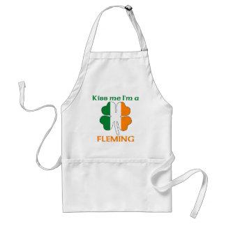 Personalized Irish Kiss Me I m Fleming Apron