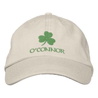 Personalized Irish Shamrock Embroidered Cap