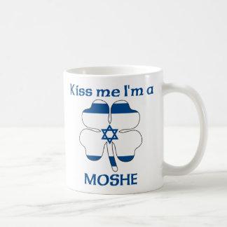 Personalized Israeli Kiss Me I'm Moshe Coffee Mug