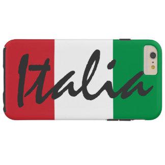 Personalized Italia Flag Tough iPhone 6 Plus Case