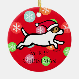 Personalized Jack Russell Terrier 2 Ornament