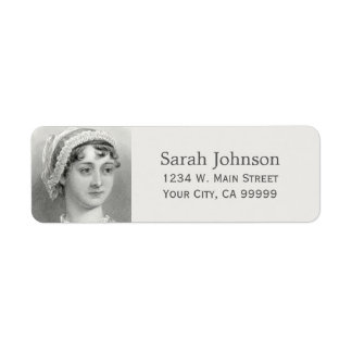 Personalized Jane Austen Return Address Label