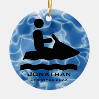 Personalized Jet Ski Ornament