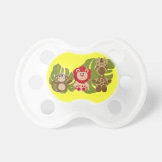 Personalized Jungle Babies Binky Custom Dummy