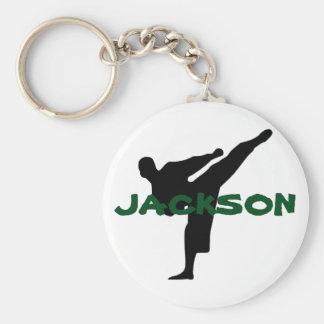 Personalized Karate Keychain