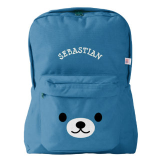 Personalized Kawaii Teddy Bear Backpack