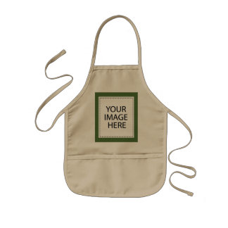 personalized kids apron