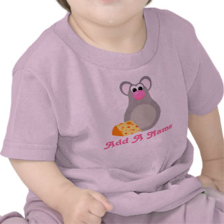 Personalized Kids Mouse Cartoon Gift Tees