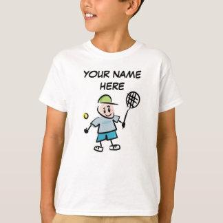 Personalized Kids Tennis Tshirt