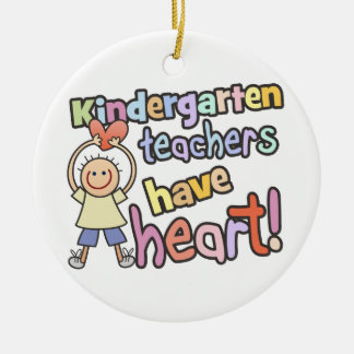 Personalized Kindergarten Teachers Ornament