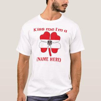 Personalized Kiss Me I'm An Austrian Tshirt
