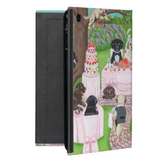 Personalized Labrador Wedding ipad mini case