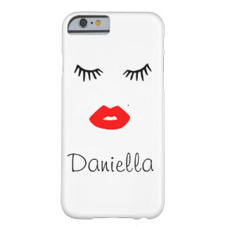 Personalized Lady Barely There iPhone 6 Case