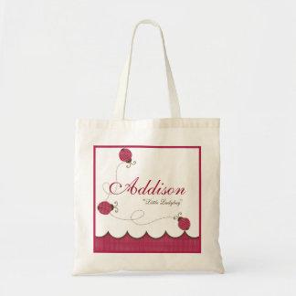 Personalized Lady Bug Bag