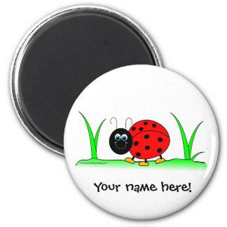 Personalized Ladybug Magnet