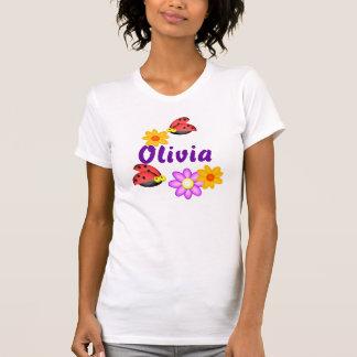 Personalized Ladybugs, Olivia T-Shirt