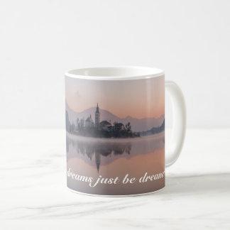 Personalized Lakeside Village Sunrise Reflection Coffee Mug