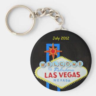 Personalized Las Vegas Key Ring