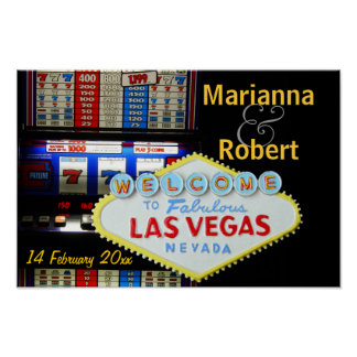 Personalized Las Vegas Party is Here Poster
