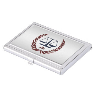 Personalized Lawyer Gifts Business Card Holder