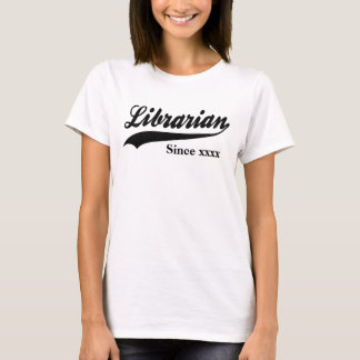 Personalized Librarian T-Shirt