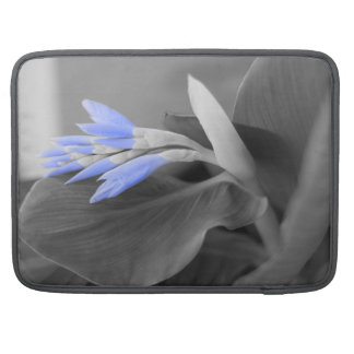 Personalized Light Blue Buds selective color Sleeve For MacBook Pro