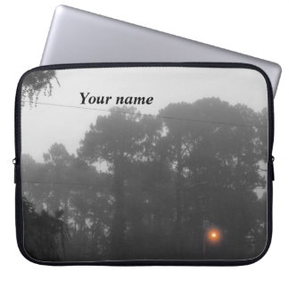 Personalized Lighting the Gloom Laptop Sleeve