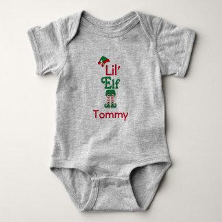 Personalized Lil Elf Baby Bodysuit
