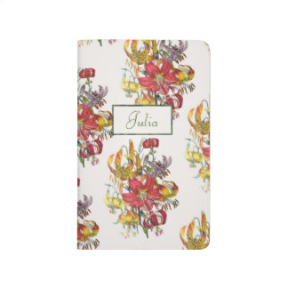Personalized Lilies Journal