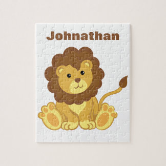 Personalized Lion Puzzle