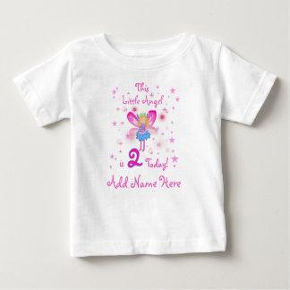 Personalized LIttle Angel 2nd Birthday Tshirt
