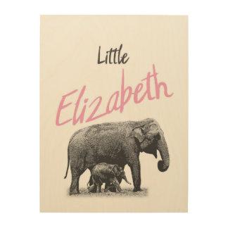 """Personalized """"Little Elizabeth"""" Wood Wall Art"""