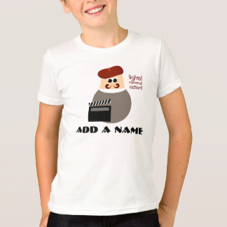 Personalized Little Movie Director T-shirt