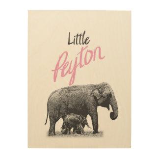 """Personalized """"Little Peyton"""" Wood Wall Art"""