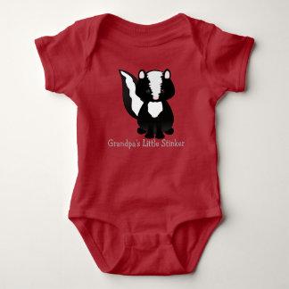Personalized Little Stinker Baby Bodysuit